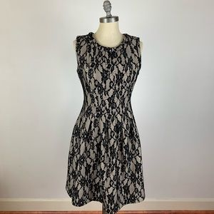 Anthropologie HD in Paris Black Lace Dress